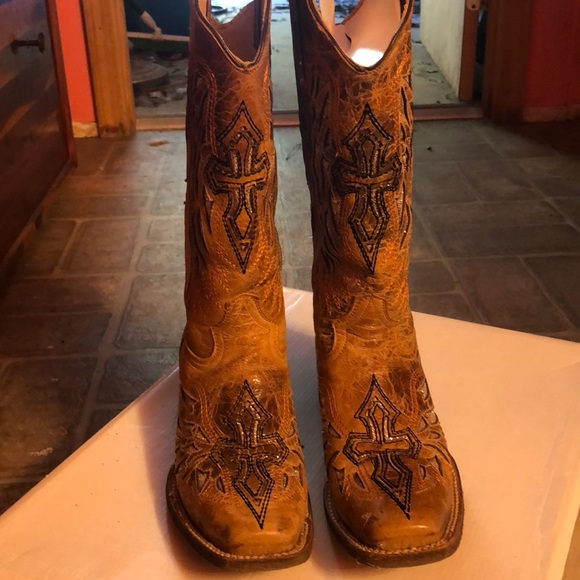Shoes | Dressy Cowgirl Boots | Poshmark
